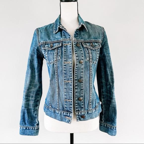 J.Crew • Classic Denim Jacket Sz XS